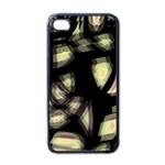 Follow the light Apple iPhone 4 Case (Black)