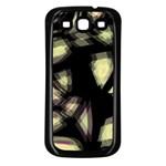 Follow the light Samsung Galaxy S3 Back Case (Black)