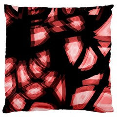 Red Light Standard Flano Cushion Case (two Sides) by Valentinaart
