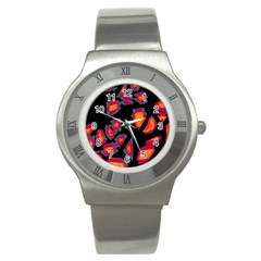 Hot, Hot, Hot Stainless Steel Watch by Valentinaart