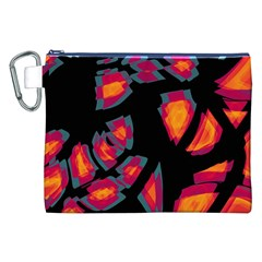 Hot, Hot, Hot Canvas Cosmetic Bag (xxl) by Valentinaart