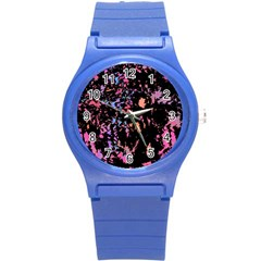 Put Some Colors    Round Plastic Sport Watch (s) by Valentinaart