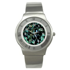 Colorful Magic Stainless Steel Watch by Valentinaart