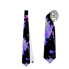 Think Blue Neckties (two Side)  by Valentinaart