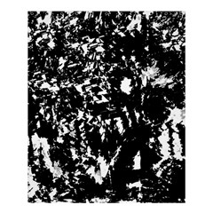 Black And White Miracle Shower Curtain 60  X 72  (medium)  by Valentinaart