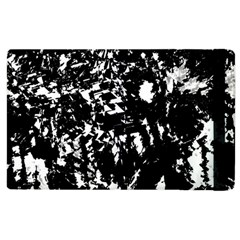 Black And White Miracle Apple Ipad 2 Flip Case by Valentinaart