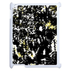 Little Bit Of Yellow Apple Ipad 2 Case (white) by Valentinaart