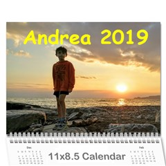 Calendrea 2017 By Corrado Sanguineti   Wall Calendar 11  X 8 5  (12 Months)   2rbe79f72uyh   Www Artscow Com Cover