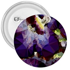 Purple Abstract Geometric Dream 3  Buttons by DanaeStudio