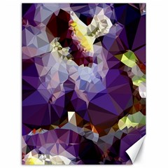 Purple Abstract Geometric Dream Canvas 18  X 24   by DanaeStudio