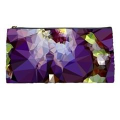Purple Abstract Geometric Dream Pencil Cases by DanaeStudio