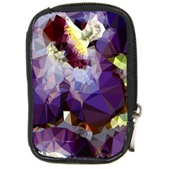 Purple Abstract Geometric Dream Compact Camera Cases by DanaeStudio