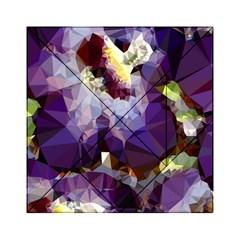 Purple Abstract Geometric Dream Acrylic Tangram Puzzle (6  X 6 ) by DanaeStudio