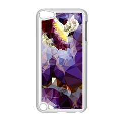 Purple Abstract Geometric Dream Apple Ipod Touch 5 Case (white) by DanaeStudio