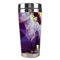 Purple Abstract Geometric Dream Stainless Steel Travel Tumblers by DanaeStudio