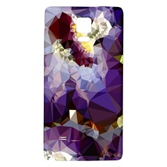 Purple Abstract Geometric Dream Galaxy Note 4 Back Case by DanaeStudio