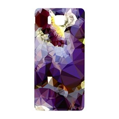 Purple Abstract Geometric Dream Samsung Galaxy Alpha Hardshell Back Case by DanaeStudio