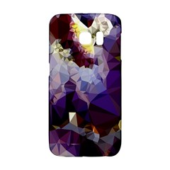 Purple Abstract Geometric Dream Galaxy S6 Edge by DanaeStudio