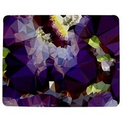 Purple Abstract Geometric Dream Jigsaw Puzzle Photo Stand (rectangular) by DanaeStudio