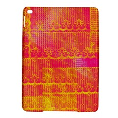 Yello And Magenta Lace Texture Ipad Air 2 Hardshell Cases by DanaeStudio