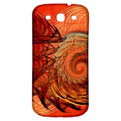 Nautilus Shell Abstract Fractal Samsung Galaxy S3 S Iii Classic Hardshell Back Case by designworld65