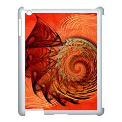 Nautilus Shell Abstract Fractal Apple Ipad 3/4 Case (white) by designworld65