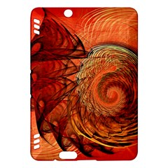 Nautilus Shell Abstract Fractal Kindle Fire Hdx Hardshell Case by designworld65