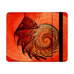 Nautilus Shell Abstract Fractal Samsung Galaxy Tab Pro 8 4  Flip Case by designworld65