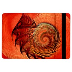 Nautilus Shell Abstract Fractal Ipad Air 2 Flip by designworld65