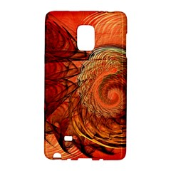 Nautilus Shell Abstract Fractal Galaxy Note Edge by designworld65