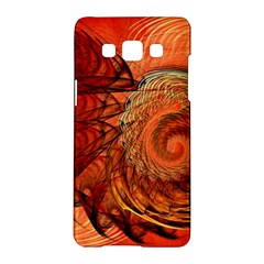 Nautilus Shell Abstract Fractal Samsung Galaxy A5 Hardshell Case  by designworld65