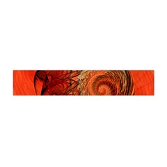 Nautilus Shell Abstract Fractal Flano Scarf (mini) by designworld65