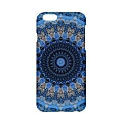 Feel Blue Mandala Apple Iphone 6/6s Hardshell Case by designworld65