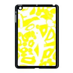 Yellow Sunny Design Apple Ipad Mini Case (black) by Valentinaart