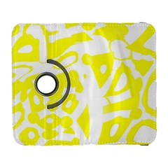 yellow sunny design Samsung Galaxy S  III Flip 360 Case