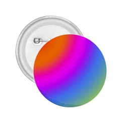 Radial Gradients Red Orange Pink Blue Green 2 25  Buttons by EDDArt