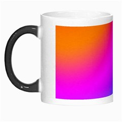 Radial Gradients Red Orange Pink Blue Green Morph Mugs by EDDArt