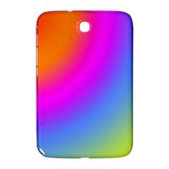Radial Gradients Red Orange Pink Blue Green Samsung Galaxy Note 8 0 N5100 Hardshell Case  by EDDArt