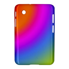 Radial Gradients Red Orange Pink Blue Green Samsung Galaxy Tab 2 (7 ) P3100 Hardshell Case  by EDDArt