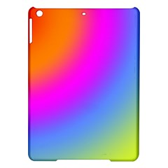 Radial Gradients Red Orange Pink Blue Green Ipad Air Hardshell Cases by EDDArt