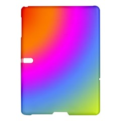 Radial Gradients Red Orange Pink Blue Green Samsung Galaxy Tab S (10 5 ) Hardshell Case  by EDDArt