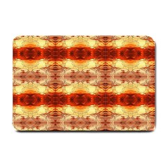 Fabric Design Pattern Color Small Doormat  by AnjaniArt