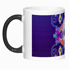 Día De Los Muertos Skull Ornaments Multicolored Morph Mugs by EDDArt