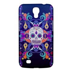 Día De Los Muertos Skull Ornaments Multicolored Samsung Galaxy Mega 6 3  I9200 Hardshell Case by EDDArt
