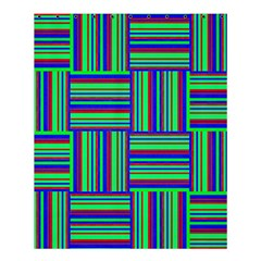 Fabric Pattern Design Cloth Stripe Shower Curtain 60  X 72  (medium)  by AnjaniArt