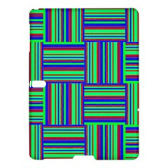 Fabric Pattern Design Cloth Stripe Samsung Galaxy Tab S (10.5 ) Hardshell Case  by AnjaniArt