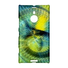 Light Blue Yellow Abstract Fractal Nokia Lumia 1520 by designworld65