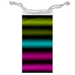 Dark Green Mint Blue Lilac Soft Gradient Jewelry Bags by designworld65