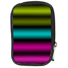 Dark Green Mint Blue Lilac Soft Gradient Compact Camera Cases by designworld65