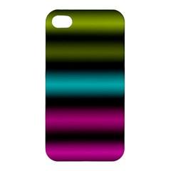 Dark Green Mint Blue Lilac Soft Gradient Apple Iphone 4/4s Hardshell Case by designworld65